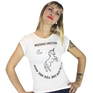 Remera Unicornio (Natural)