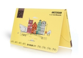 3D Color City - Amsterdam