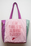 Full Color Tote Heart - comprar online