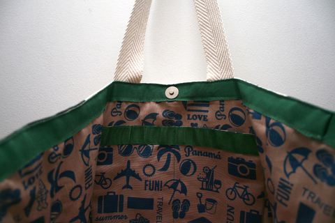 Tote Hipster Dog - Panama Bags