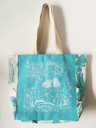 Tote Summer Dance by Celina Villar