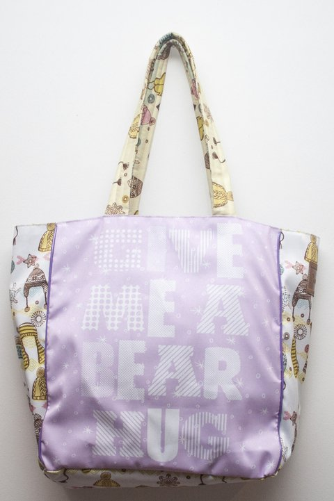 Full Color Tote Oso - comprar online