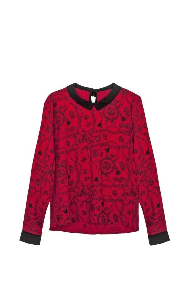 BLUSA AMULETO DIAMONDS ROJO