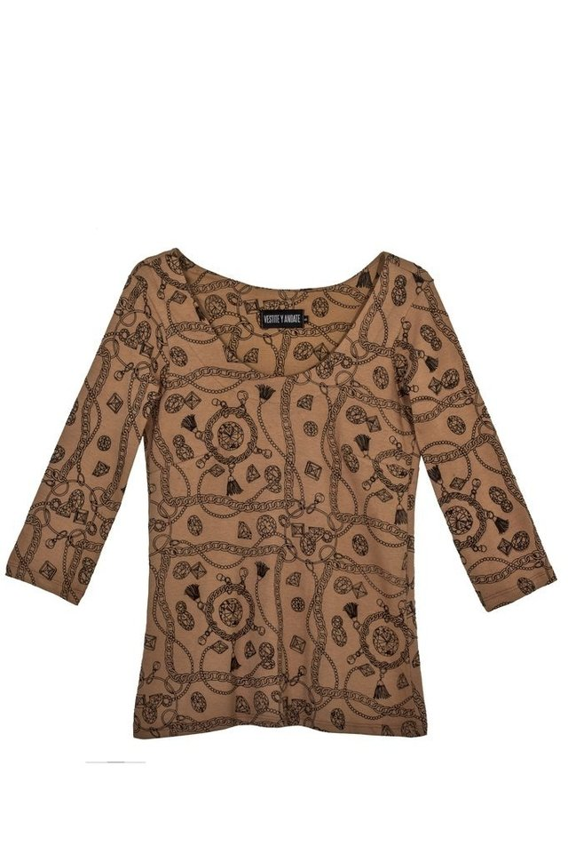 CAMISETA DIAMONDS CAMEL