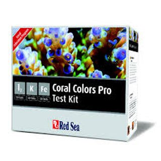 Coral Colors Pro Test Kit I2/K/FE Red Sea