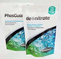 Denitrate / PhosGuard - 2x100ml Kit anti-algas Seachem