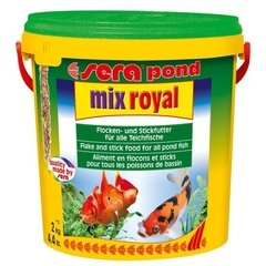 Sera Pond Mix Royal - Mixer flocos sticks e bolinhas granuladas - comprar online