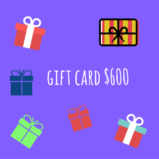 Gift Card $600