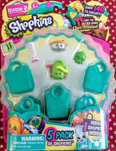 Shopkins Season 3. 5 Pack - comprar online