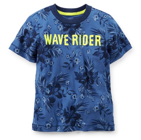 Remera Carter's tropical azul - comprar online