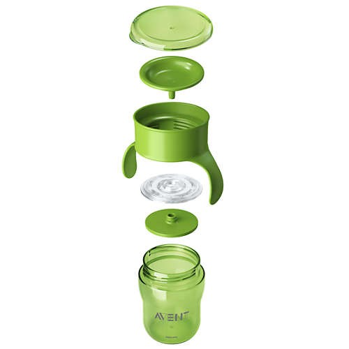 Imagen de Avent Natural Drinking Cup, Vaso Involcable, Sin Piquito
