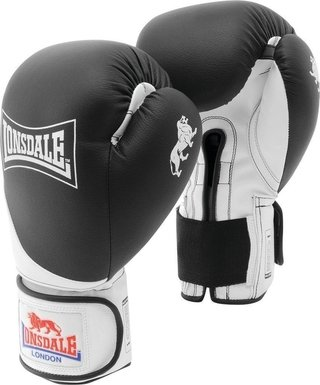 Guantes Lonsdale Box Rookie Training Negro - comprar online