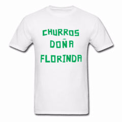 Estampa Churros Dona Florinda