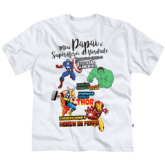 CAMISETA PAPAI SUPER HERÓI