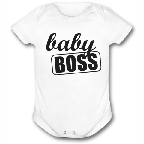 BODY OU CAMISETINHA BABY BOSS