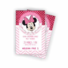Kit Digital Minnie Rosa - comprar online