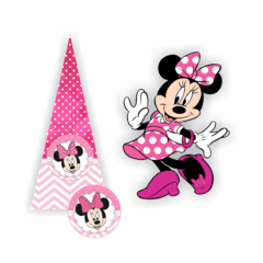 Kit Digital Minnie Rosa