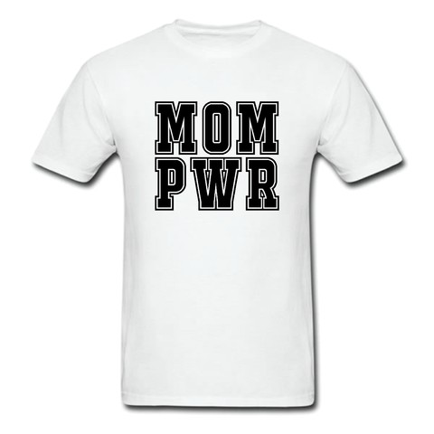 CAMISETA TRADICIONAL MOM POWER