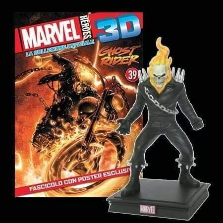 FIGURAS MARVEL HEROES 3D 31 - GHOST RIDER