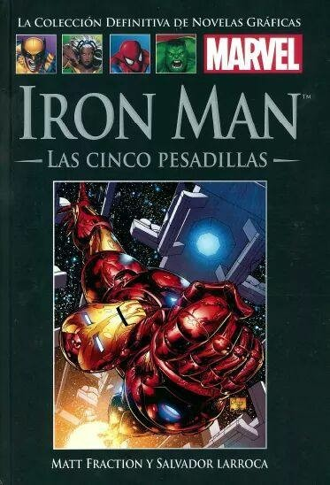 TOMO 58 - IRON MAN: LAS CINCO PESADILLAS
