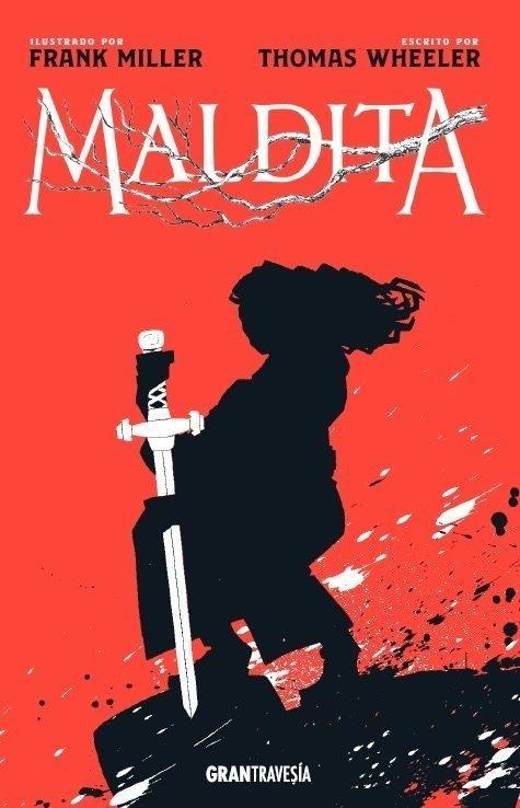 MALDITA Ilustrado por Frank Miller - Elektra Comics