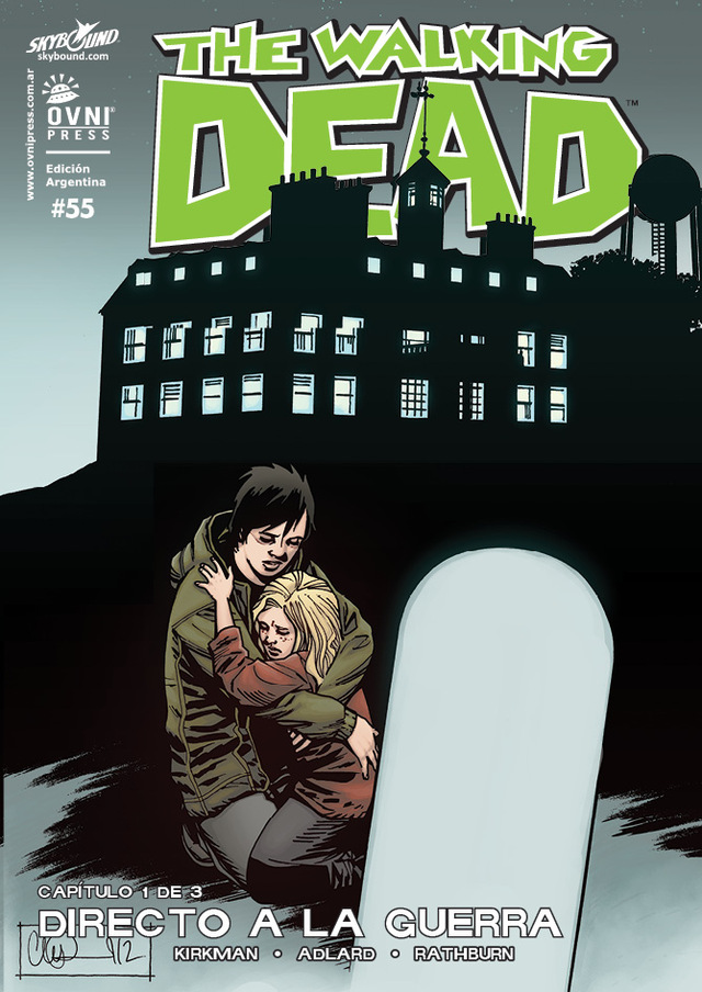 The Walking Dead #55