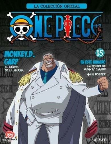 FIGURA ONE PIECE 15 - MONKEY D GARP
