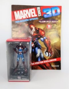 FIGURAS MARVEL HEROES 3D 19 - IRON PATRIOT