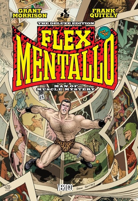 FLEX MENTALLO MAN OF MUSCLE MYSTERY HC