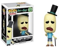 FUNKO POP! ANIMATION: RICK & MORTY - MR. POOPY BUTTHOLE (177)