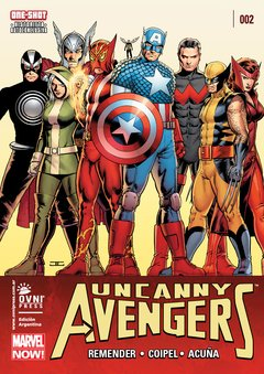 UNCANNY AVENGERS 02 MARVEL NOW