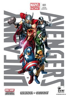 UNCANNY AVENGERS 01 MARVEL NOW