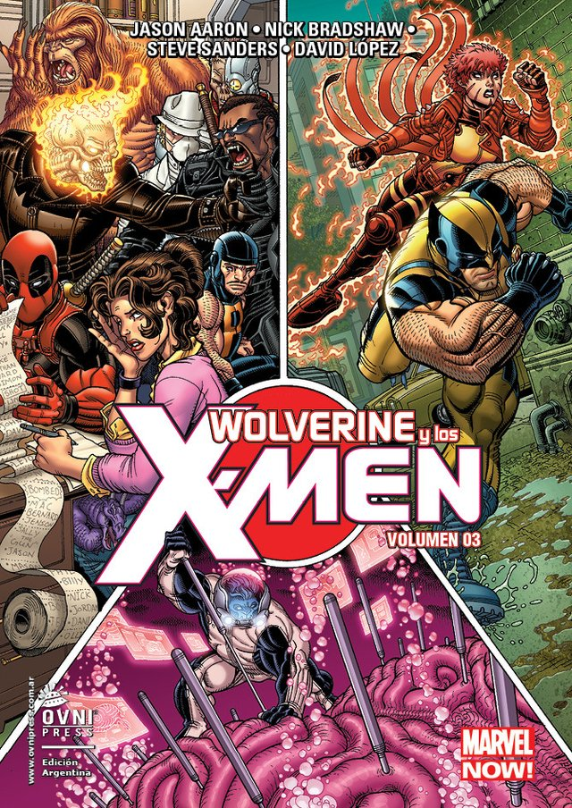 Wolverine y los X-Men Vol 3