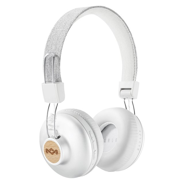Headphones Positive Vibration Bluetooth SILVER - House Of Marley