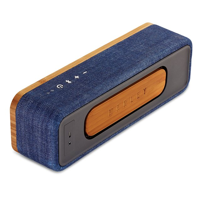Parlante Bluetooth Get Together Mini DENIM House Of Marley - Chilly Design