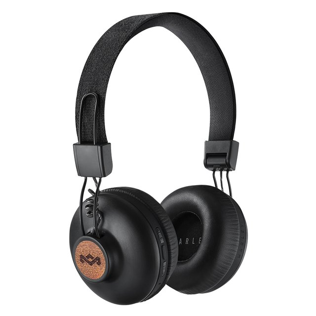 Headphones Positive Vibration Bluetooth SIGNATURE BLACK - House Of Marley