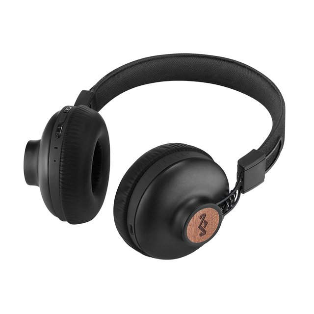 Headphones Positive Vibration Bluetooth SIGNATURE BLACK - House Of Marley - Chilly Design