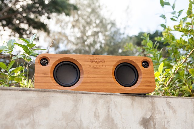 Parlante Bluetooth Get Together Black House Of Marley