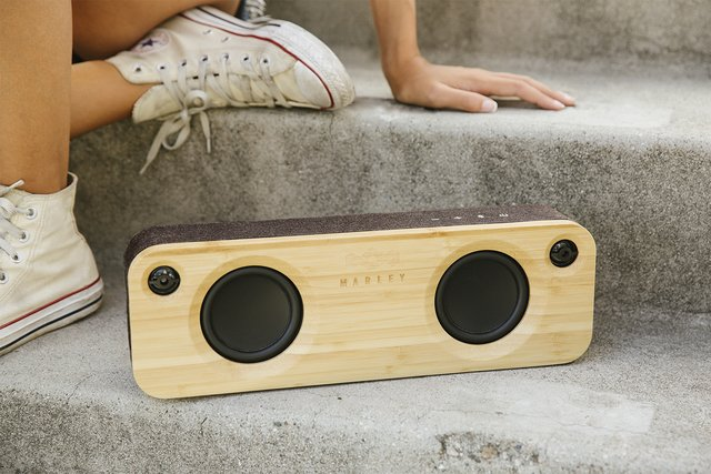 Parlante Bluetooth Get Together Mini BLACK House Of Marley - tienda online