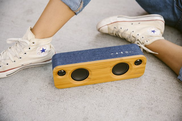 Imagen de Parlante Bluetooth Get Together Mini DENIM House Of Marley