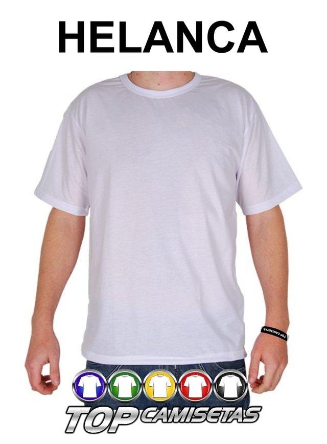 e00dd31a2c Camiseta Lisa - Malha Helanca Light 100% Poliéster