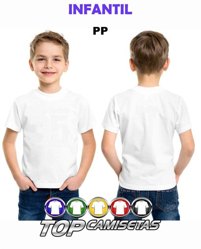 c230a20e77 Camiseta Infantil Lisa - Malha PP 100% Poliester