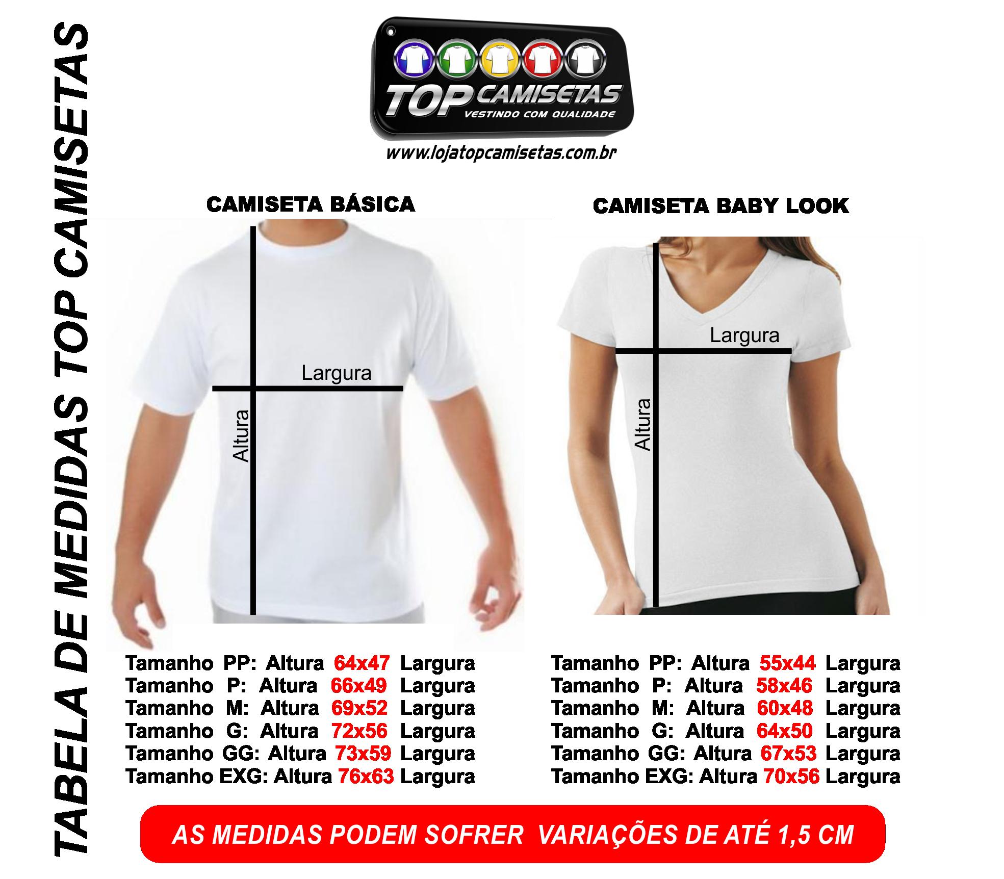 Camiseta Lisa - Malha PP 100% Poliéster 44cd44aed1018