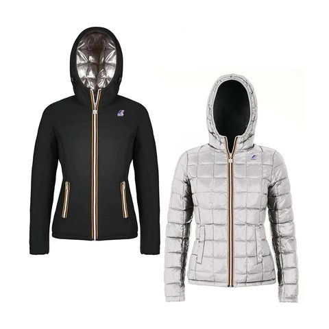 KWAY CAMPERA REVERSIBLE LILY THERMO PLUS DOUBLE