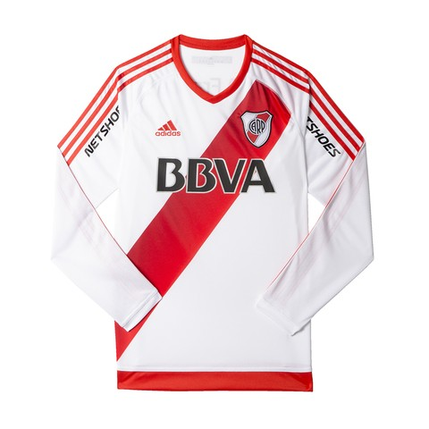 Camiseta Titular de River Adidas AO3478 LONG SLEEVES COD: 01253478