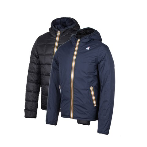 KWAY CAMPERA REVERSIBLE ACQUESTHERMO PLUS DOB blue