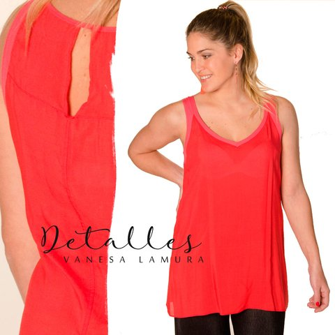 Musculosa Candy Larga Lisa