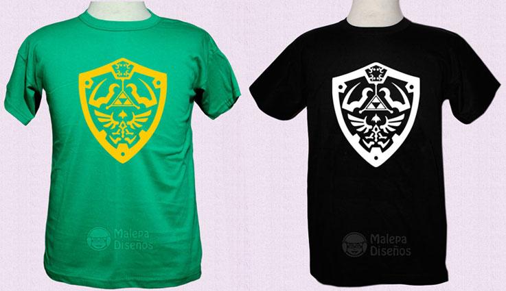 THE LEGEND OF ZELDA - remera - Tienda Malepa Diseños 093e49e0c42b4