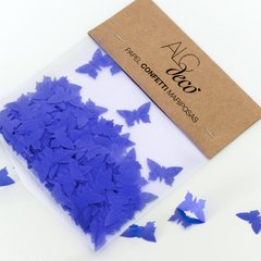 Kit para decoracion de Candy Bar de mariposas Azules Bat Mitzvah - tienda online