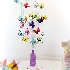Kit para Decoracion de Candy Bar de Mariposas Multicolores Cumpleaños - comprar online